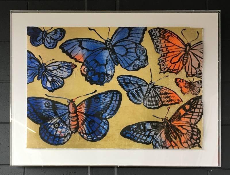 Thumbnail Gold Butterflies - David Bromley