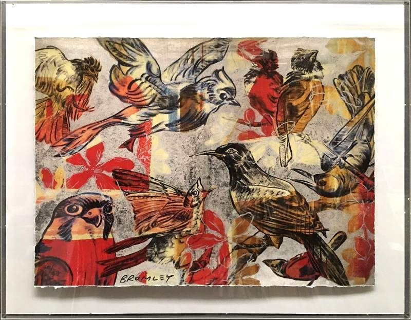 Thumbnail Birds and Flowers - David Bromley