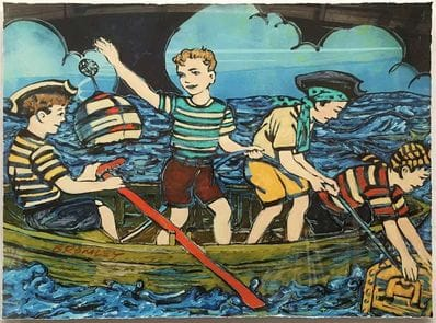 4 Young Pirates - David Bromley