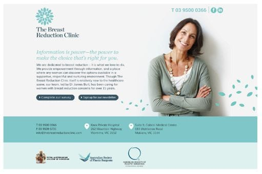 The Breast Reduction Clinic