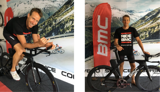 Australian triathlete and 2012 Kona Ironman World Champion Pete Jacobs, enters sponsorship agreement with BMC Bicycles Australia for the 2017 race season.