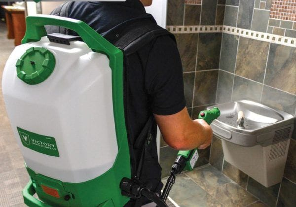 Restroom disinfection services