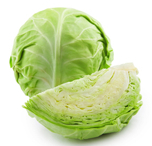 Soccer ball sized cabbages grow quickly and can be used in a variety of ways.