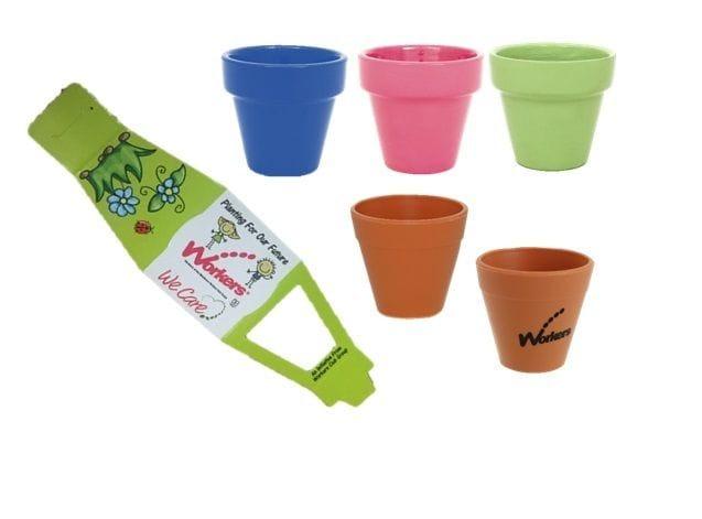 SC-9028 MINI GARDEN POT - Plastic Pots