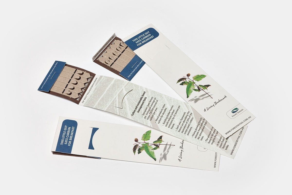 SC-9035 SEEDS-ON-STICKS -  Bookmark