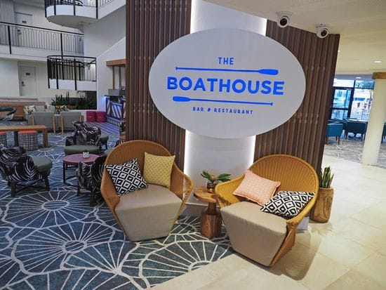 Hamptons vibe at the new Boathouse Restaurant and Bar