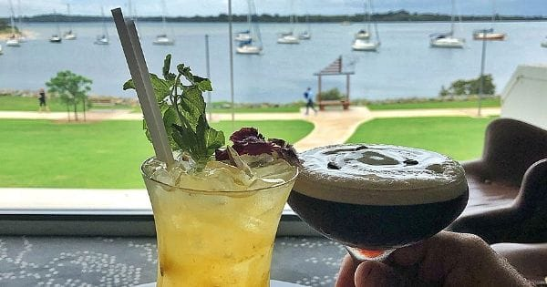 Wining and Dining with a View at The Westport Club