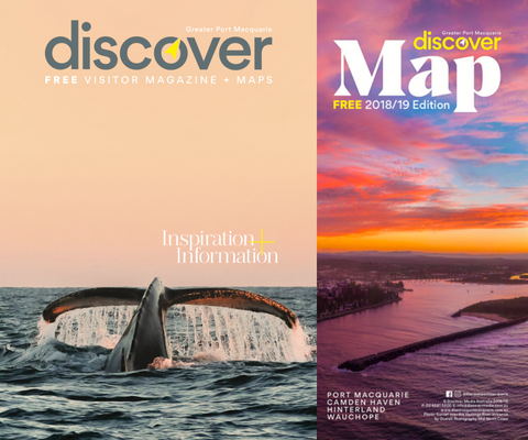 Discover Magazine & Visitor Map