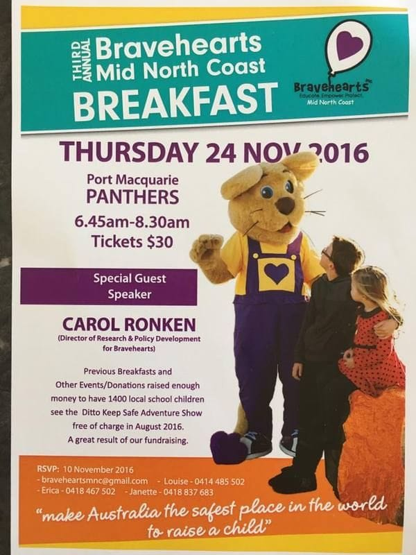 Bravehearts Mid North Coast Breakfast