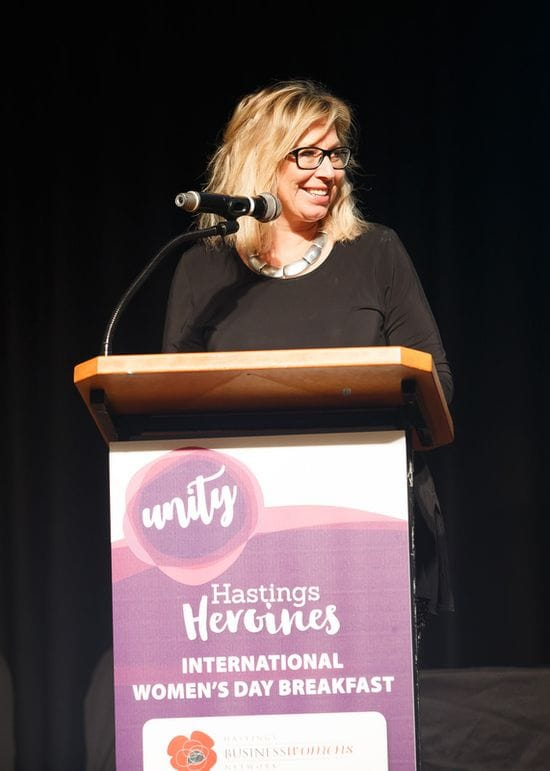 Rosie Batty heads International Women's Day breakfast in Port Macquarie