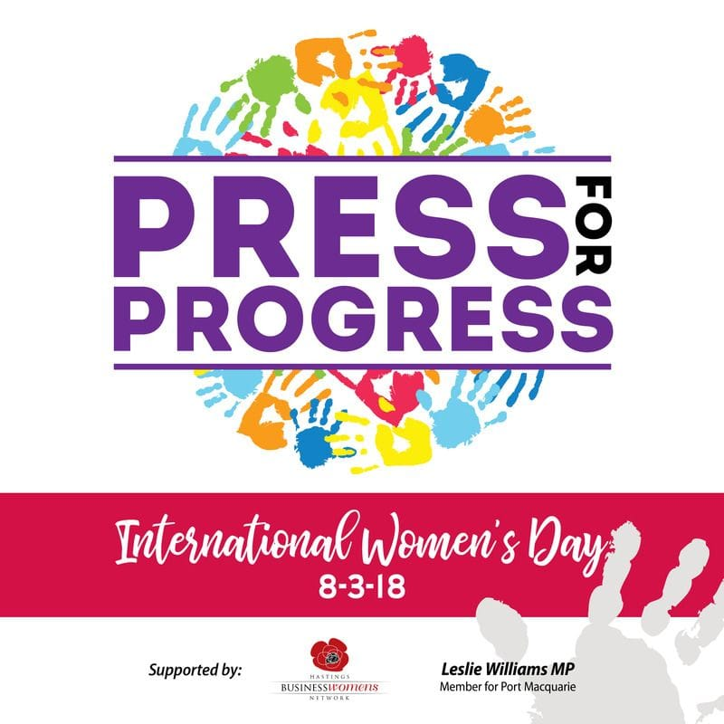 Chance to celebrate women who press for progress