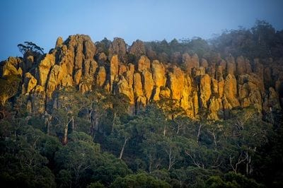 Hanging Rock near Macedon Ranges Hotel & Spa