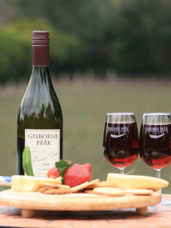 Gisborne Peak wine at Macedon Ranges Hotel & Spa