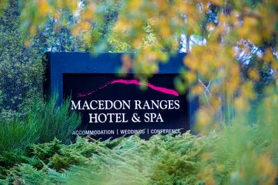 Macedon Ranges Hotel & Spa is an easy one hour drive from Melbourne