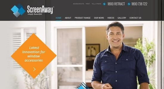 Website Launched for ScreenAway