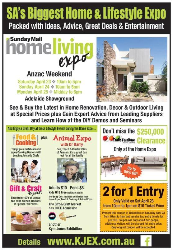 Home Living Expo - Anzac Weekend