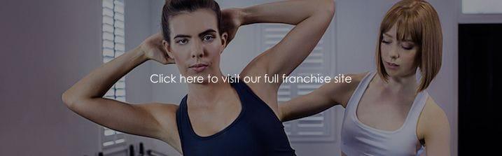 Pilates Franchise Website