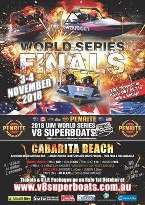 Jet Sprint World Finals - Cabarita Tweed Coast Nov 2018