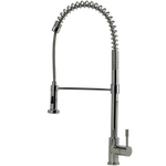 SWEDIA PRIMA Stainless Steel Kitchen Sink Mixer with Dual Flow - Brushed