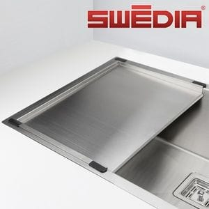SWEDIA DANTE / DROMMA Stainless Steel Drainer Tray Kitchen Sink Accessory