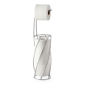 TWIST Toilet Caddy - Chrome