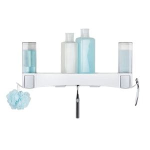 CLEVER Shower Shelf Bundle - Matte White