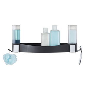 CLEVER Shower Shelf Bundle - Matte Black