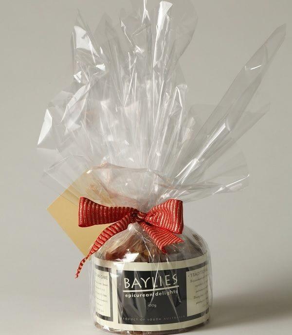 Christmas Cake Gift Wrapped 450g