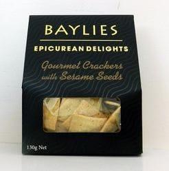 Sesame Seed Crackers 130g