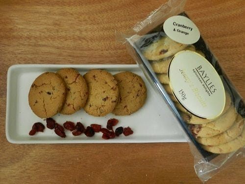 Jenny's Cranberry & Orange Biscuits 150g