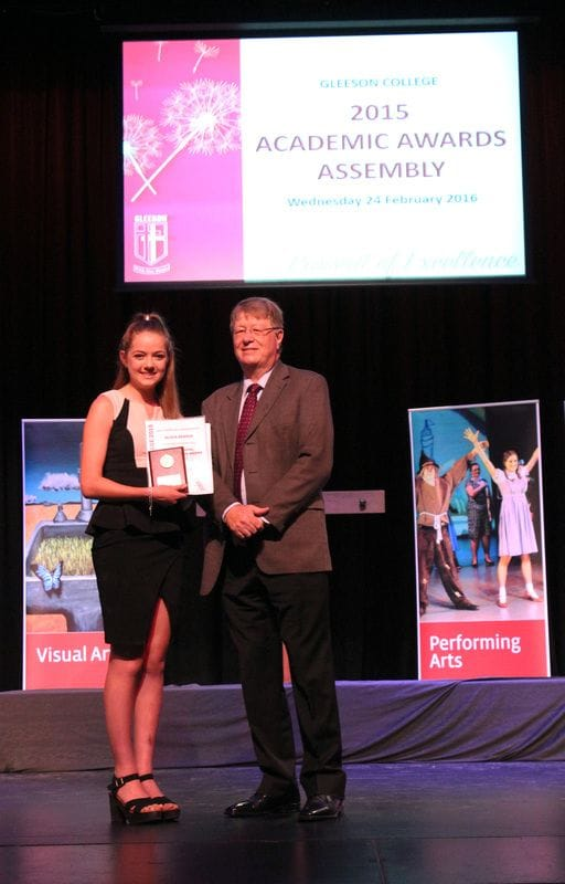 2015 Dux of College Olivia Keatch a Star!