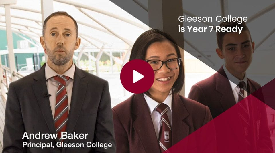 Gleenson College is Year 7 Ready