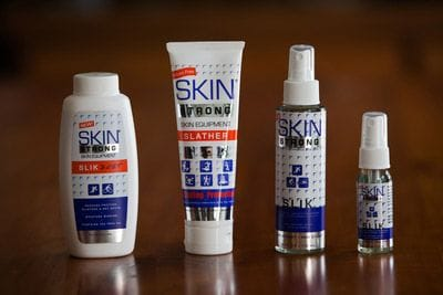 Skin Strong Australia Antichafe Slather Slik Dust Chafe and Blister Protection
