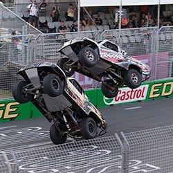 1300 Meteor Rentals sponsor a Super Truck