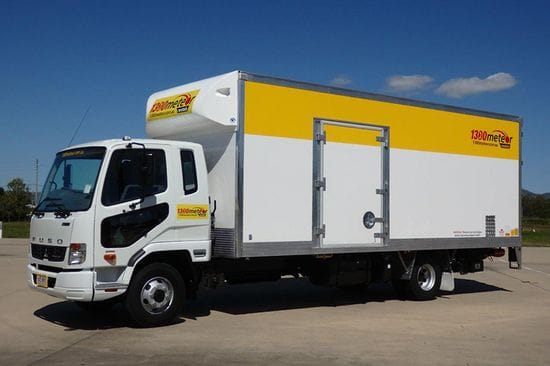 Our newest baby - new 6T PANTEC (U2184 Mits 6T Pantec + tailgate loader + towbar