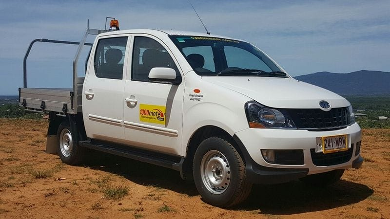 Latest model Mahindra Genio 4x2 dual cab