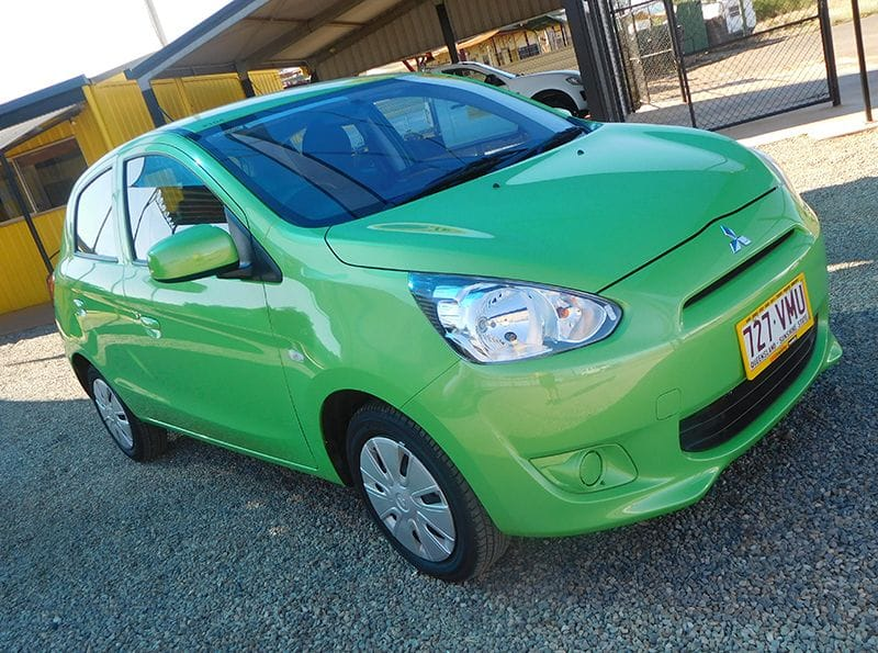 One way - Mitsubishi Mirage 5dr Hatch