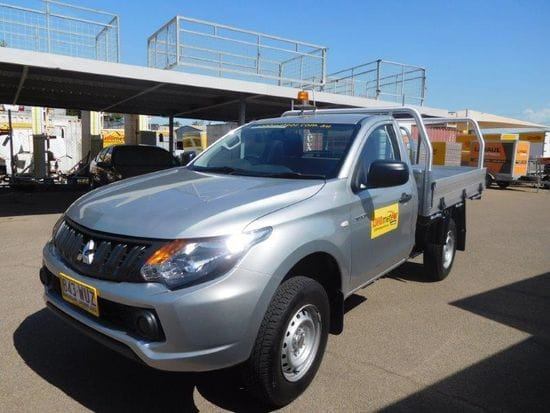 4x2 Manual Single Cab diesel - one way from Townsville to Cairns