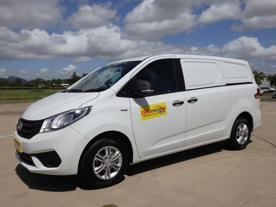 New LDV G10 1 tonne turbo diesel / auto delivery van