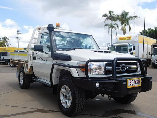 One Way Special - Toyota Landcruiser 4x4 Trayback