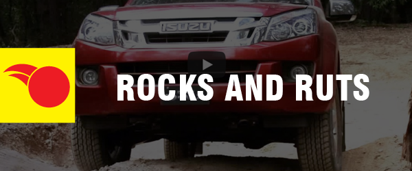 4WD Driving Tips - Rocks and Ruts