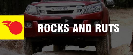 4WD Driving Tips - Rocks and Ruts