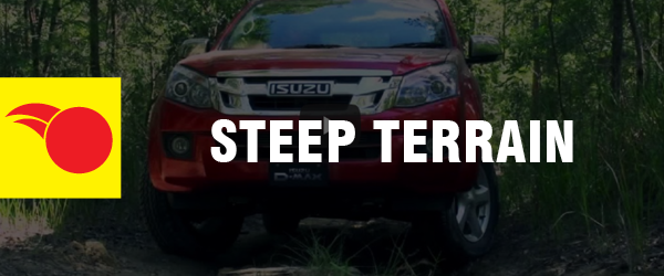 4WD Driving Tips - Steep Terrain