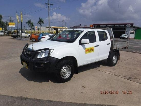 Dual Cab Utility one way from Cairns