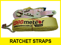 Truck hire accessories ratchet strap