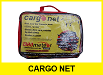 Truck hire accessories cargo net