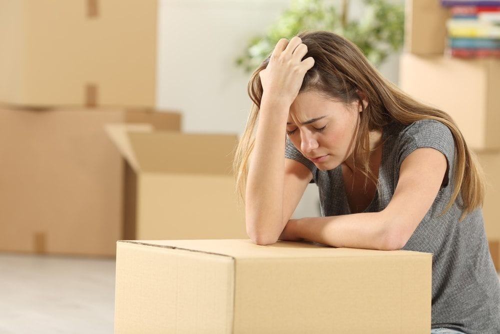 how to avoid stress when moving house