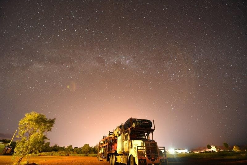 Starry night in Mt Isa