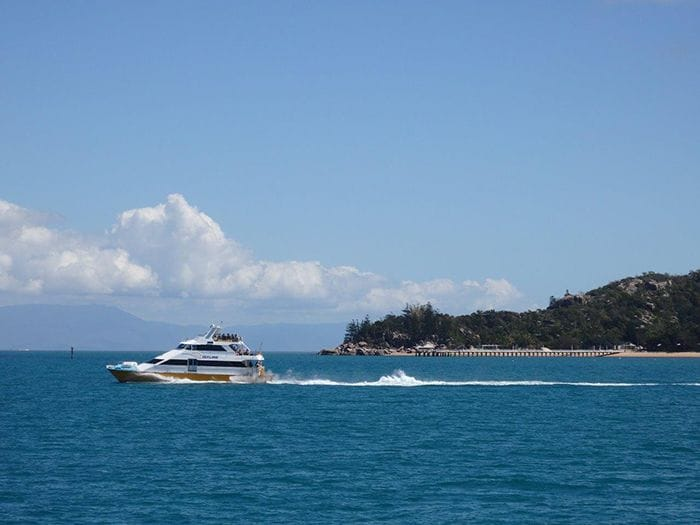 Heading back to Townville from Magnetic Island