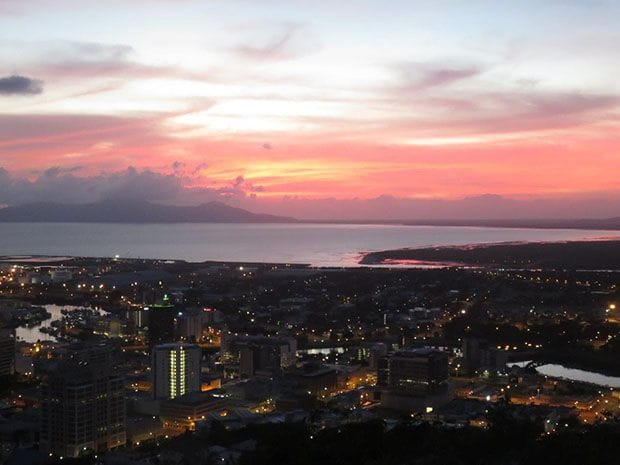 Sunrise Over Townsville CBD